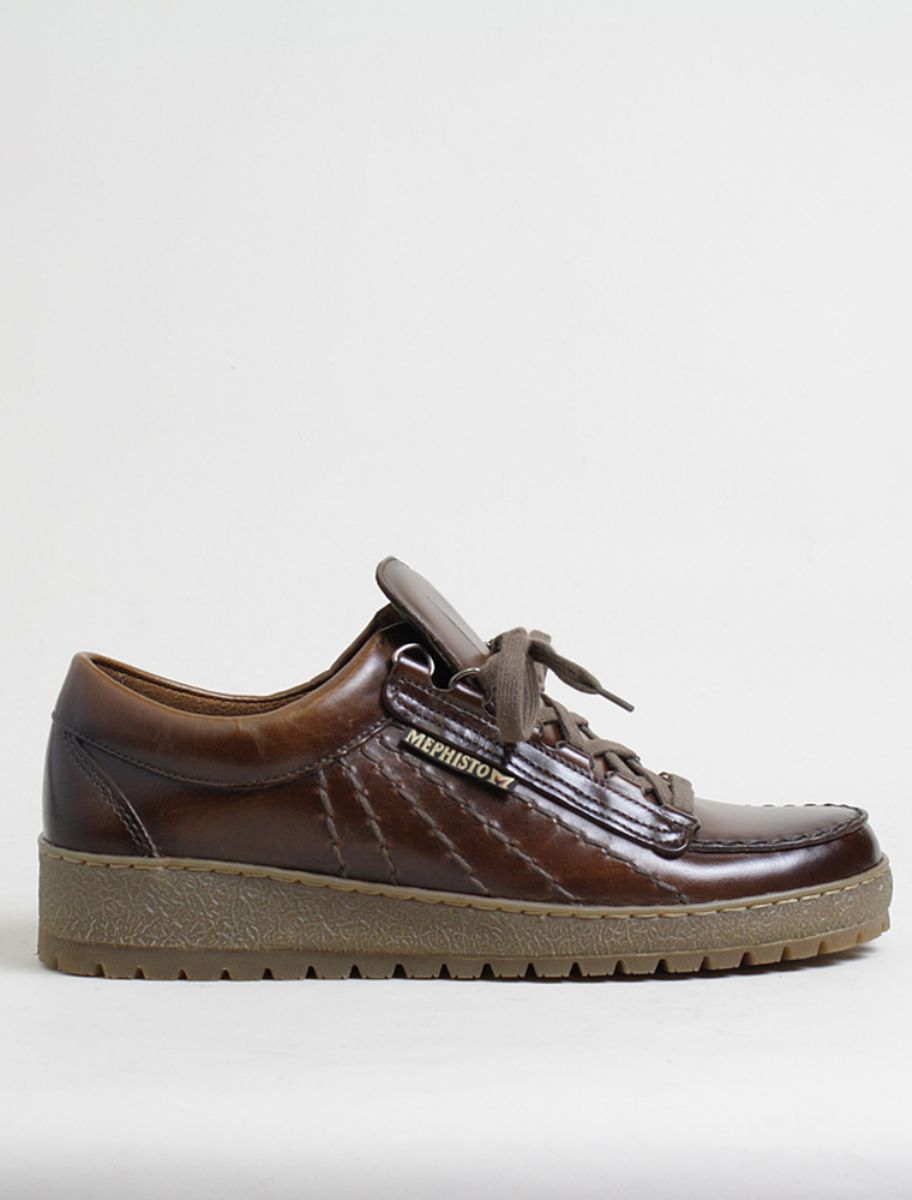 sports shoes 27c85 1eab0 Mephisto scarpa allacciata Rainbow pelle chestnut