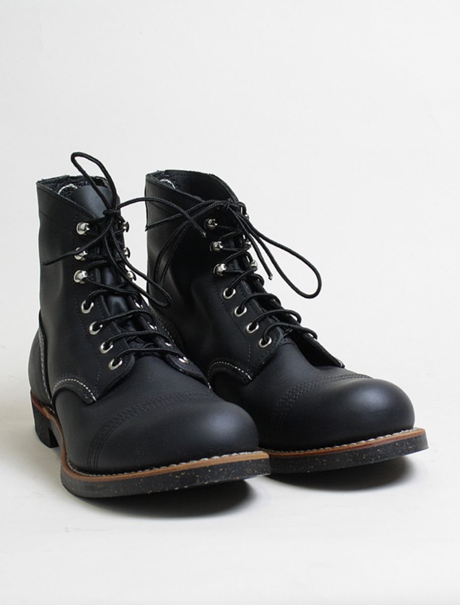 Red Wing Iron Ranger 8114 Black 3/4