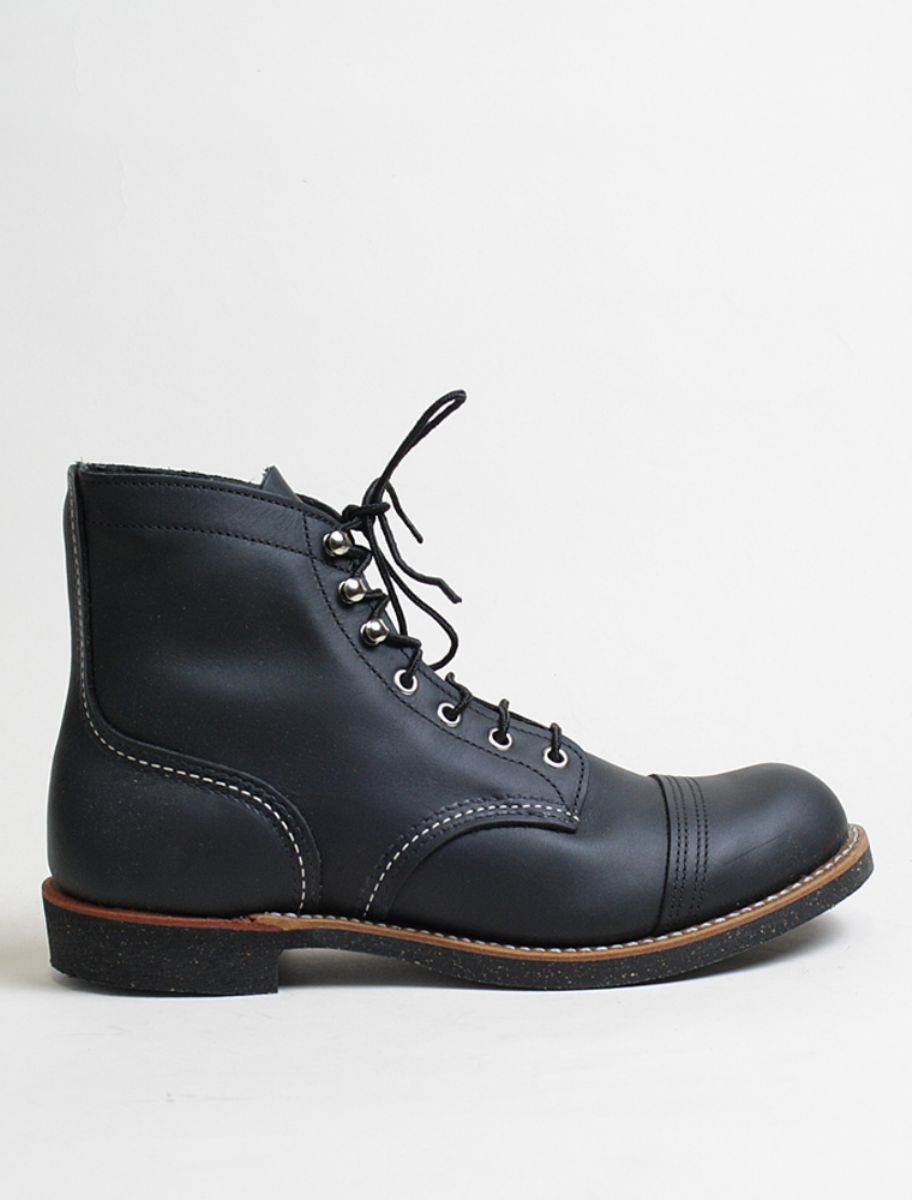Red Wing Iron Ranger 8114 Black