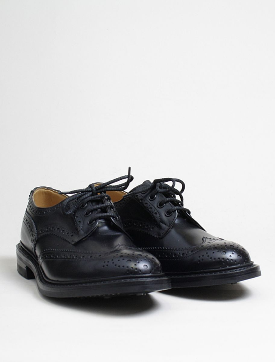 Trickers Bourton Black 3/4