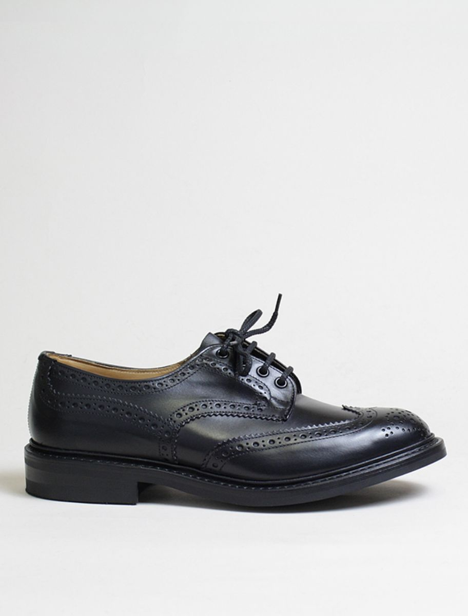 Trickers Bourton Black
