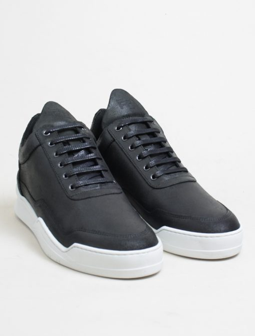 Filling Pieces low top ghost waxed black 3-4