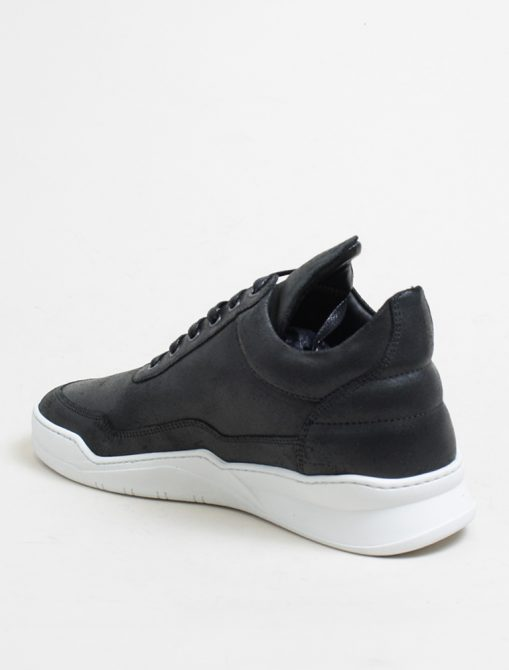 Filling Pieces low top ghost waxed black 3-4 retro