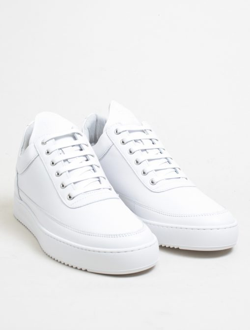 Filling Pieces low top ripple nappa white 3-4