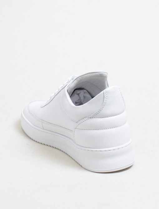 Filling Pieces low top ripple nappa white 3-4 retro