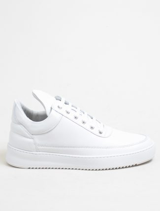 Filling Pieces low top ripple nappa white