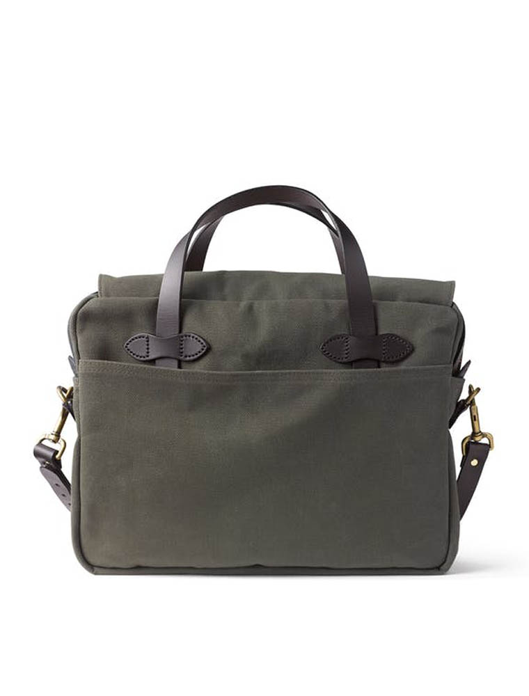 Filson Original Briefcase Otter Green lato