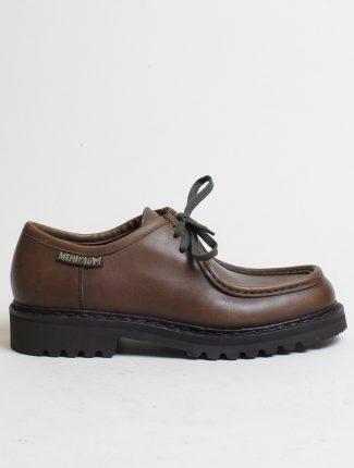 Mephisto scarpa allacciata 2 fori Peppo Dark Brown