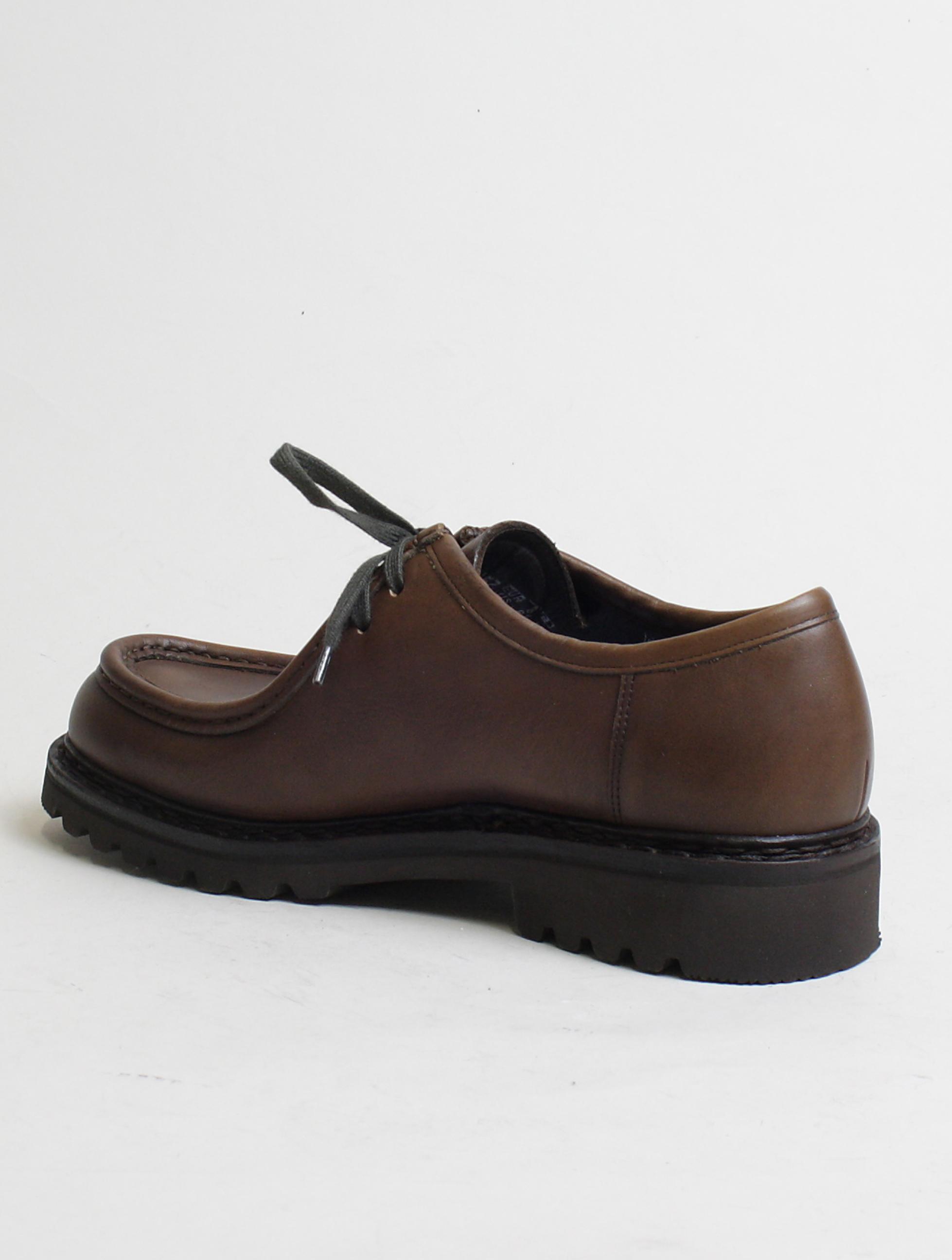 Mephisto scarpa allacciata 2 fori Peppo Dark Brown laterale