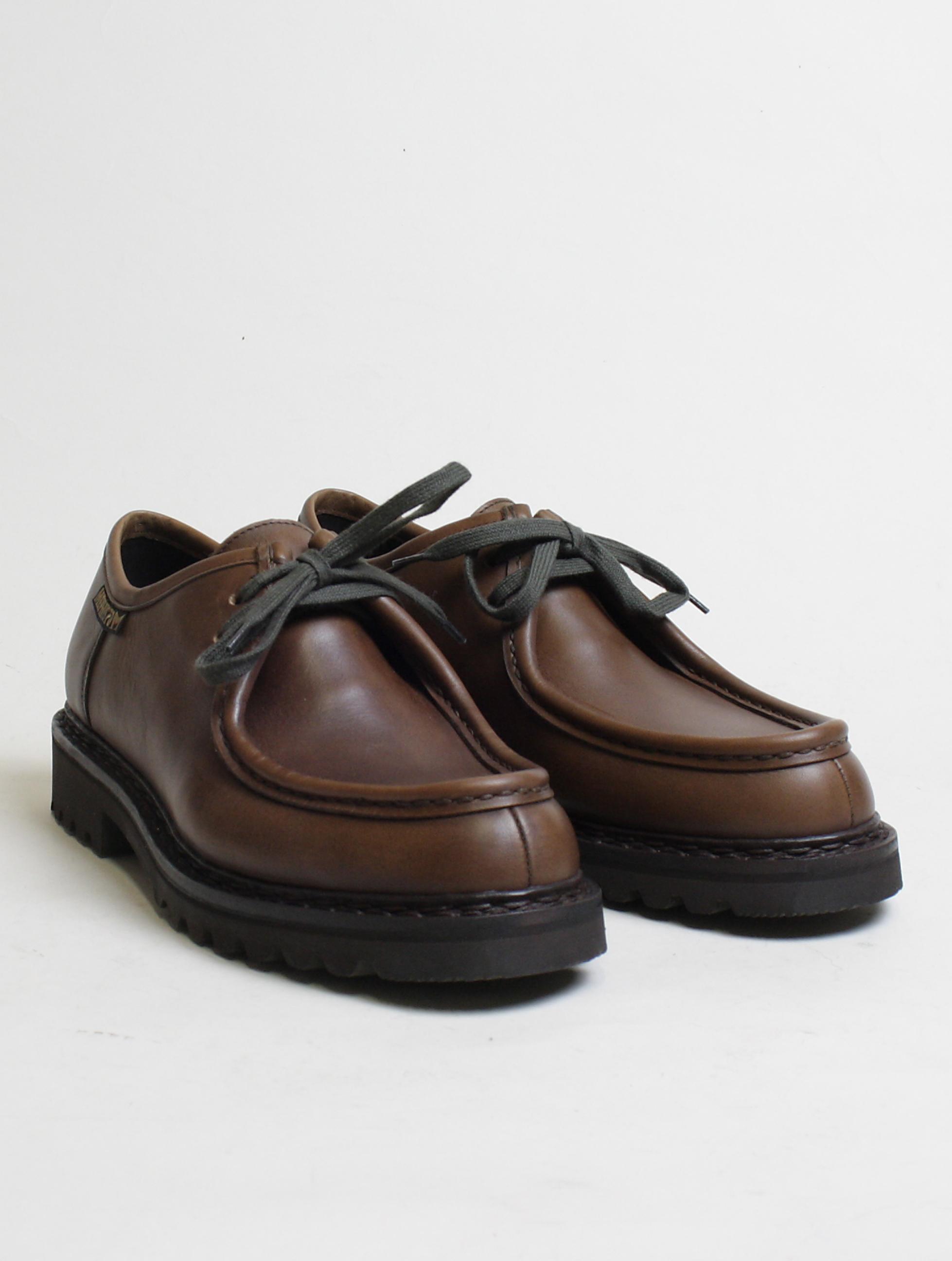 Mephisto scarpa allacciata 2 fori Peppo Dark Brown paio