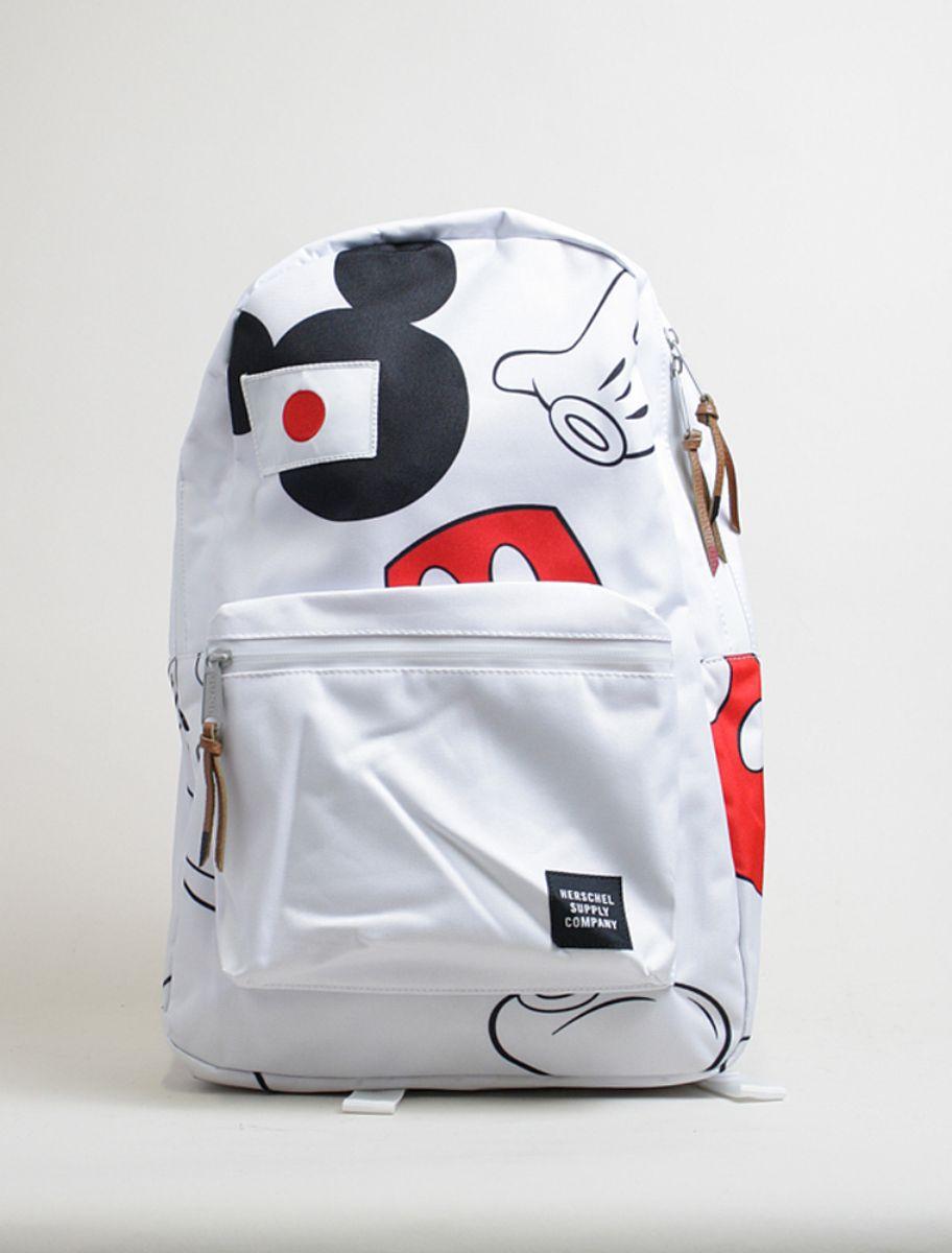 Herschel Backpack settlement Disney collection white