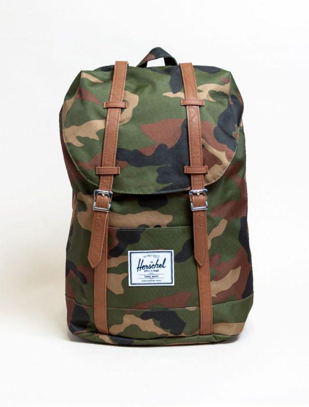 Herschel classic backpack retreat woodland camo