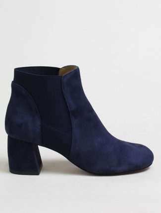 Audley 20074 Stivaletto opal suede navy