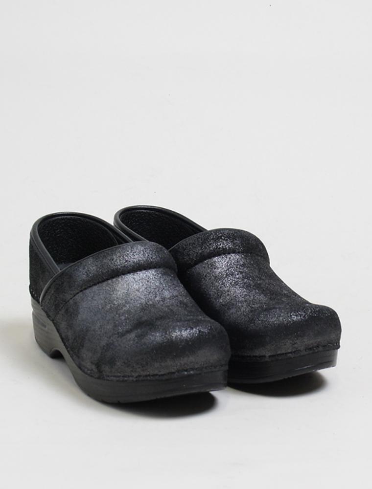 Dansko Professional black metallic 3/4