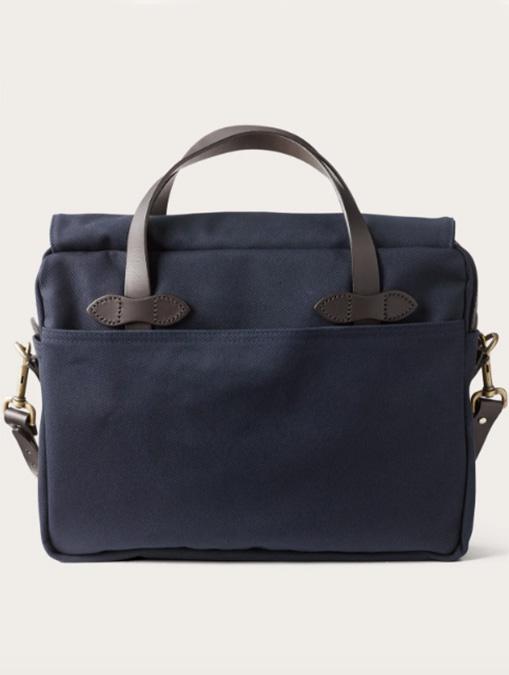 Filson borsa Original Briefcase Navy retro