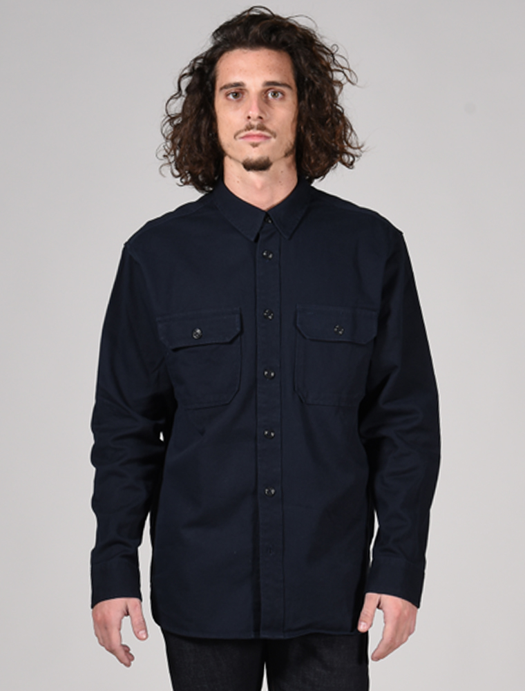 Filson 6-oz. Drill Chino shirt Storm Navy