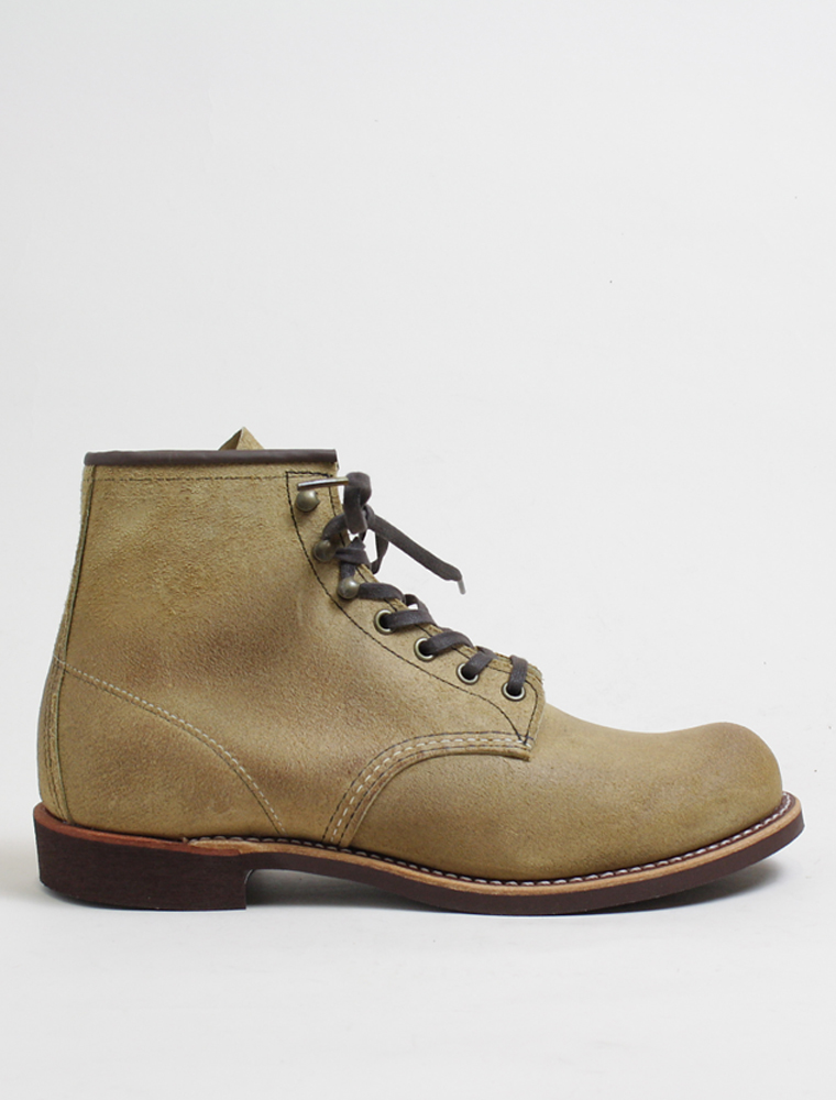 Red Wing 3344 Blacksmith Hawthorne muleskinner leather