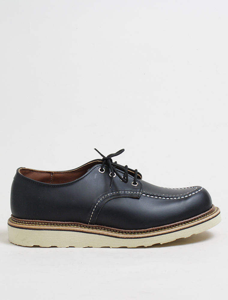 Red Wing 8106 Oxford Black Chrome Leather 1