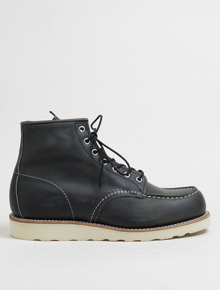 Red Wing 8890 Classic Moc Charcoal Rough Tough Leather 1
