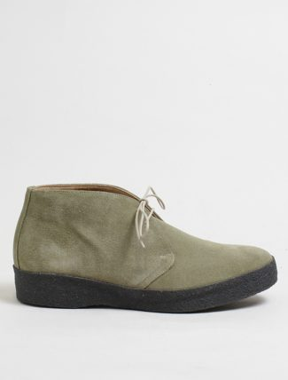 Sanders hi-top dirty buck suede chukka