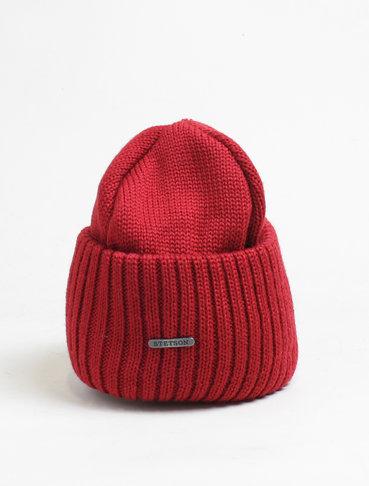 Stetson Beanie 8 Rosso