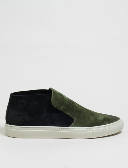 Buttero B5601 slip on gorh militare nero