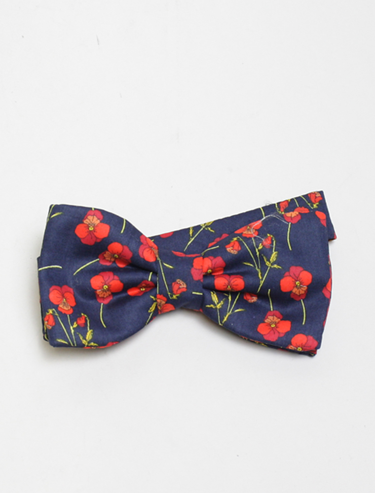 Corsi liberty red flower papillon