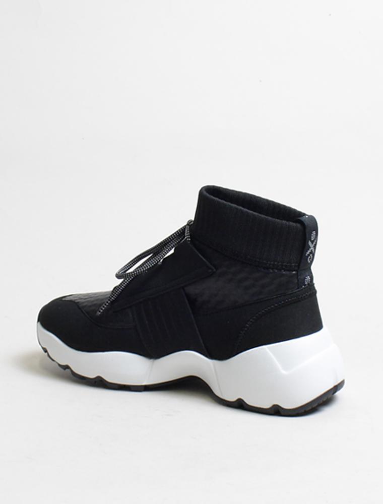 o.x.s. Sneakers Running nera 3/4 retro