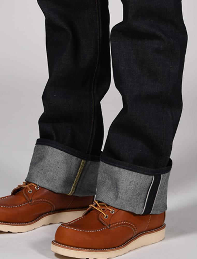 Tellason jeans Ankara indigo 14.75 oz dettaglio