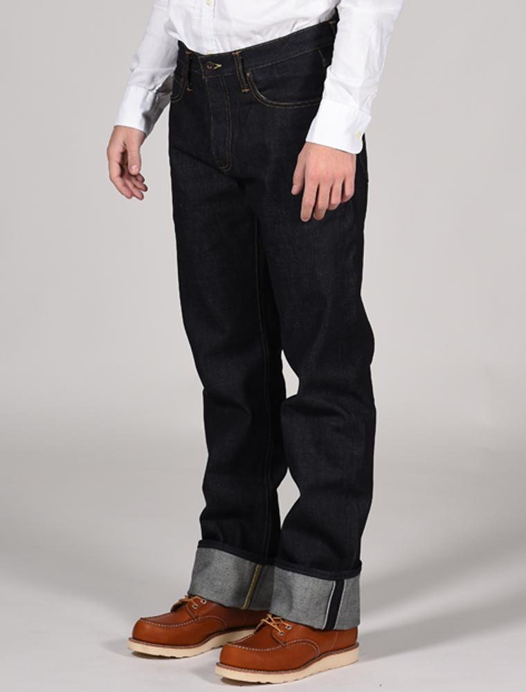 Tellason jeans Ankara indigo 14.75 oz 3-4 front