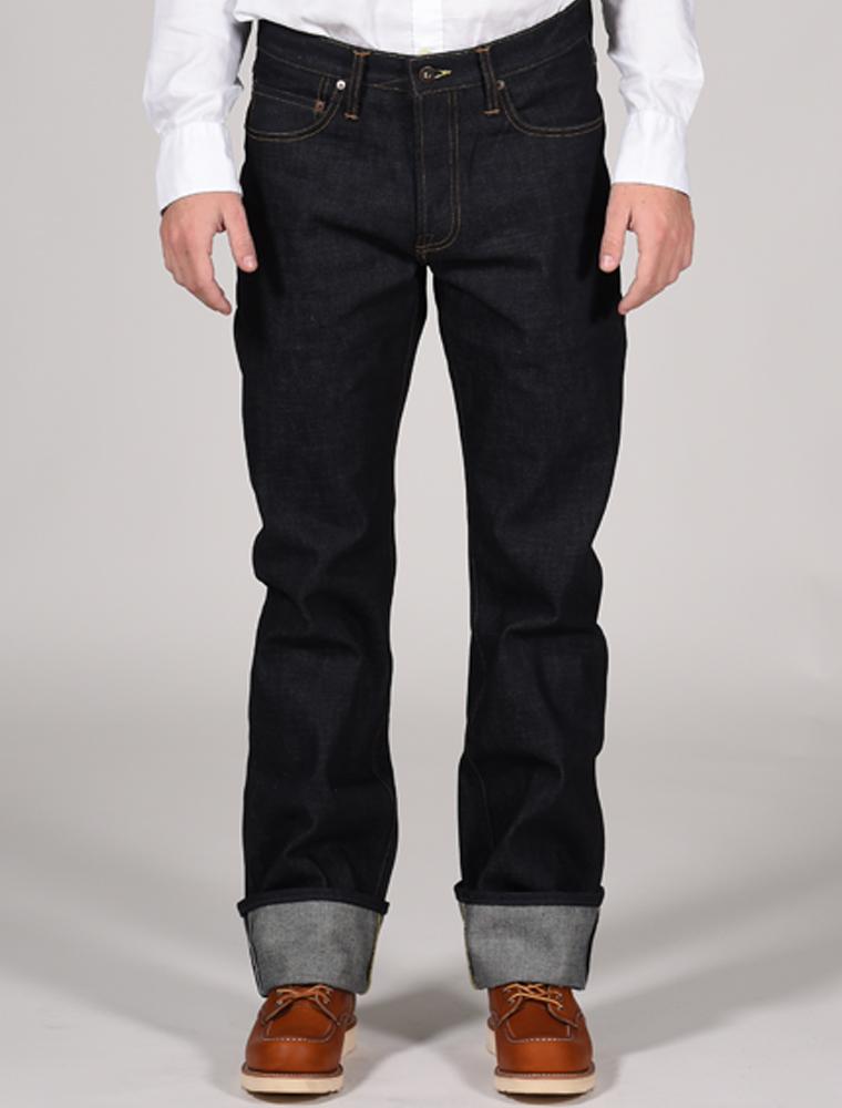 Tellason jeans Ankara indigo 14.75 oz front
