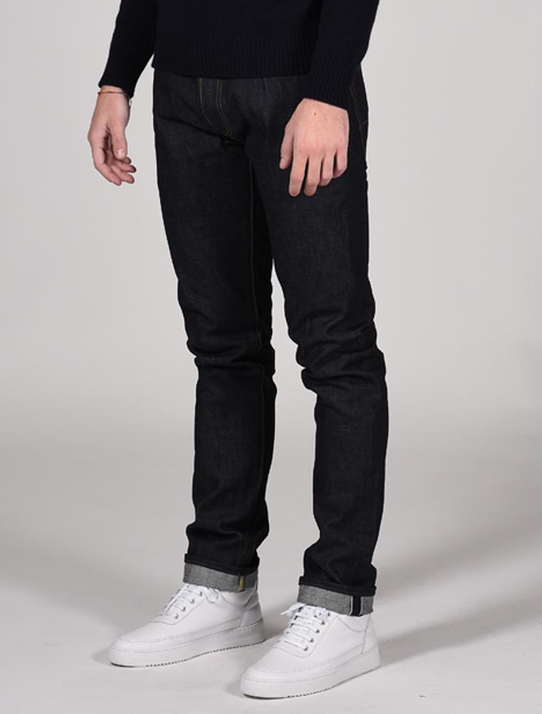 Tellason jeans Gustave indigo 14.75 oz front 3-4