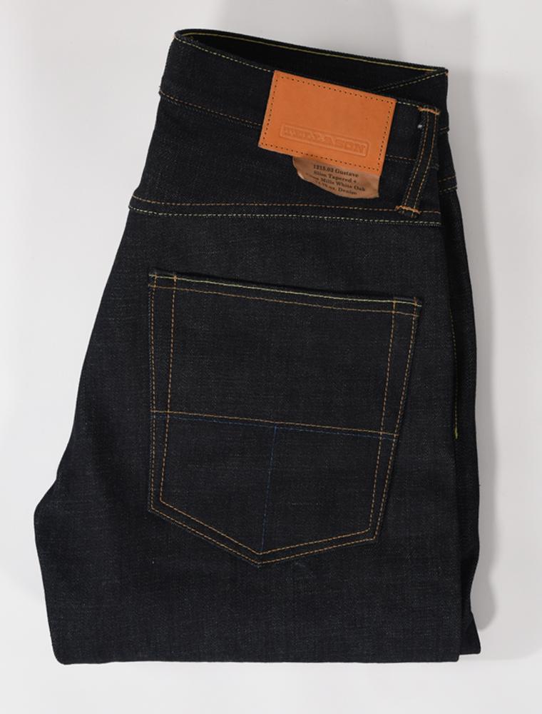 Tellason jeans Gustave indigo 14.75 oz