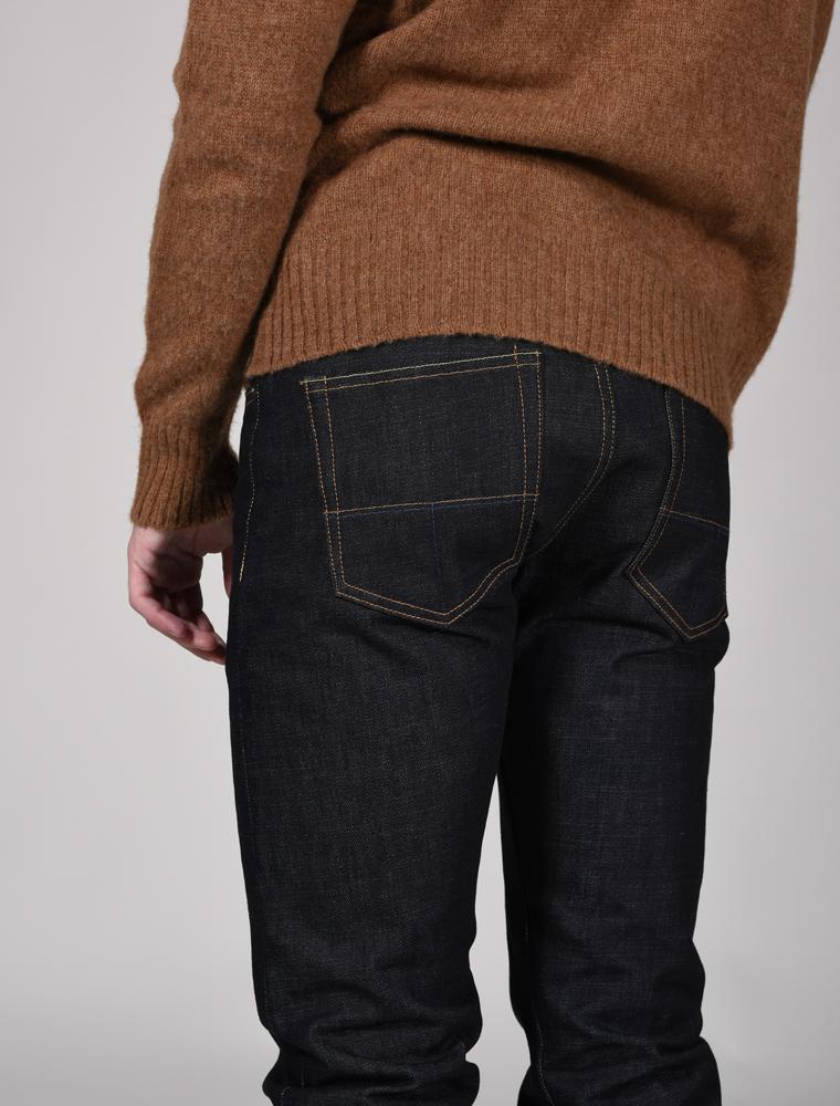 Tellason jeans Ladbroke indigo 14.75 oz dettaglio tasca