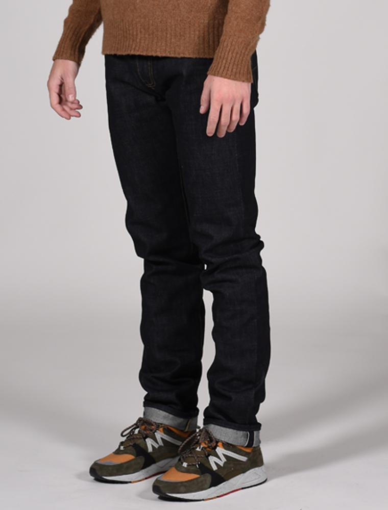 Tellason jeans Ladbroke indigo 14.75 oz 3-4 front