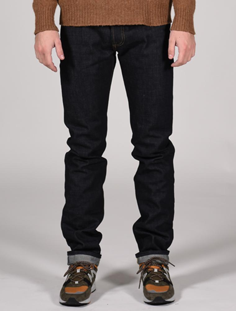 Tellason jeans Ladbroke indigo 14.75 oz front
