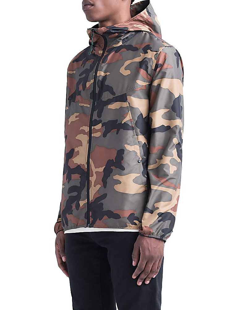 Herschel Supply Co. Voyage wind jacket woodland camo 3/4