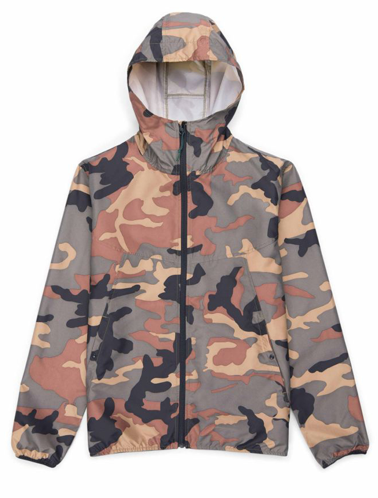 Herschel Supply Co. Voyage wind jacket woodland camo