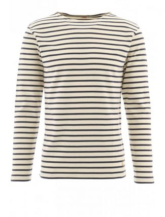 Armor Lux 2297 Heritage Breton shirt manica lunga nature navy