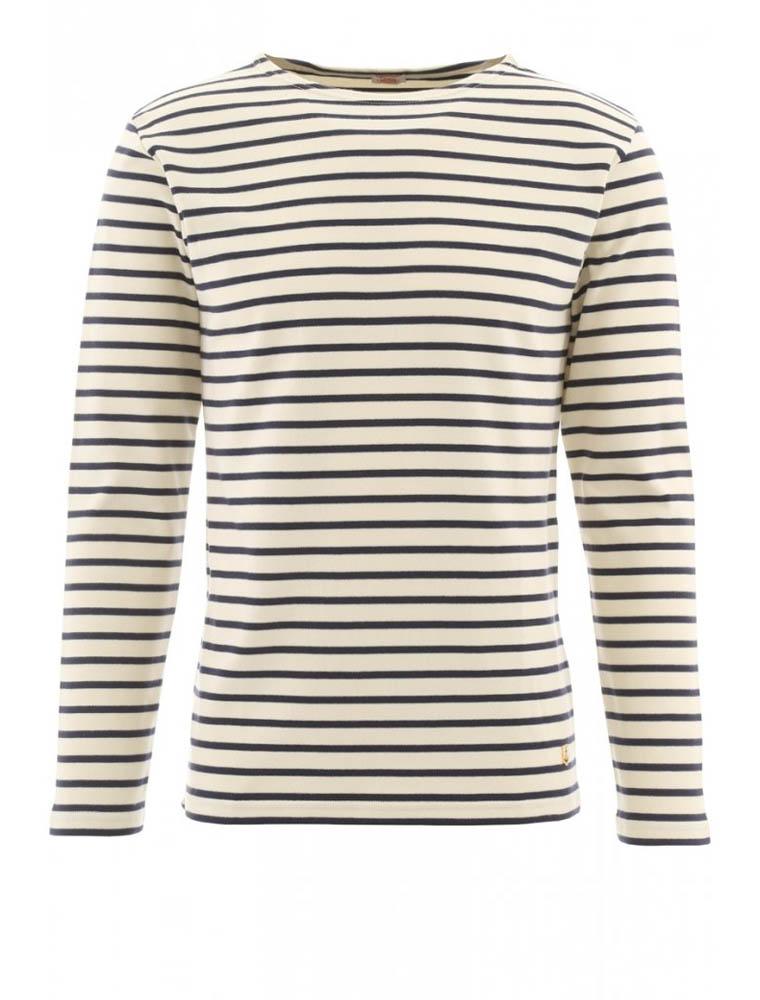 Armor Lux 2297 Heritage Breton shirt long sleeves nature navy