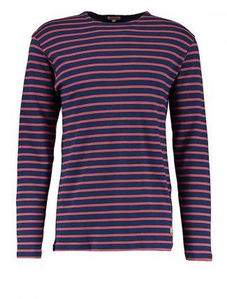 Armor Lux 2297 Heritage Breton shirt manica lunga dark blue/dark red