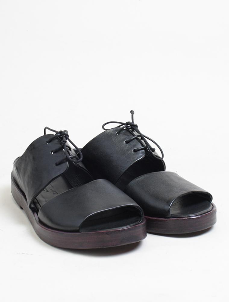 Ernesto Dolani d3406 sandalo nero laccio chianti paio