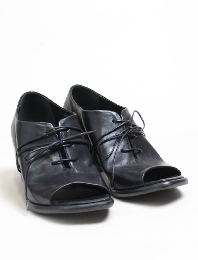 Ernesto Dolani d3426 sandalo allacciato nero lavato paio