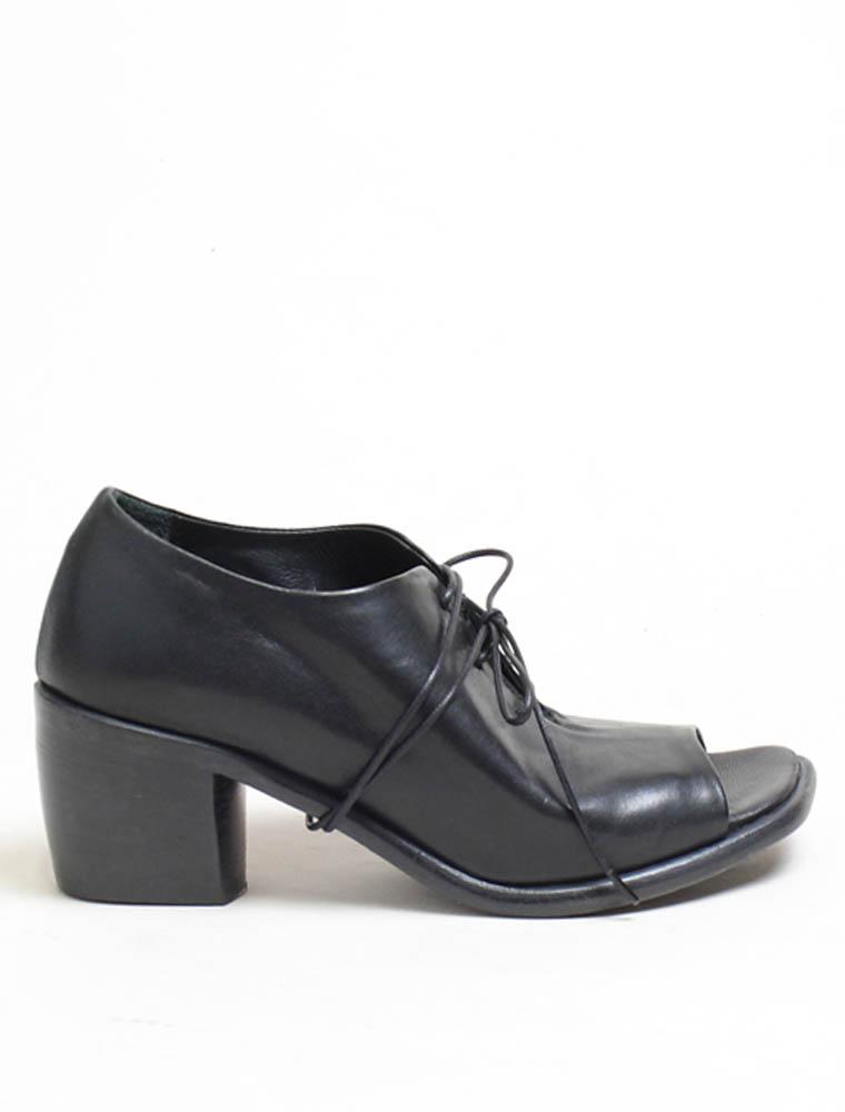 Ernesto Dolani d3426 sandalo allacciato nero lavato