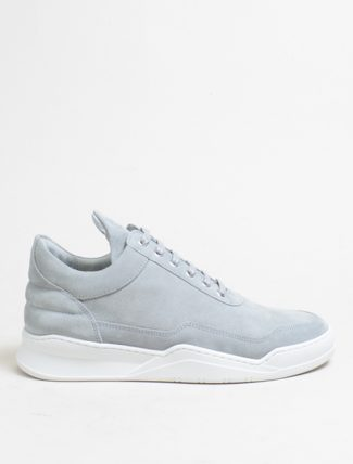 Filling Pieces Low Top Ghost Suede Cement Grey