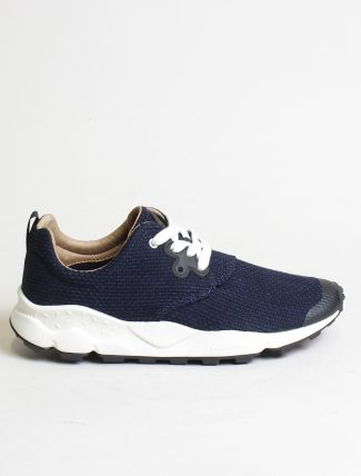 Flower Mountain sneakers Pampas man jean blue