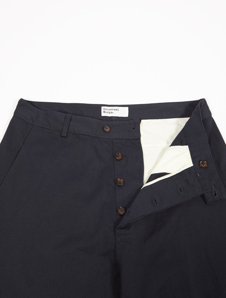 Universal Works Bakers Pant Twill Navy patta