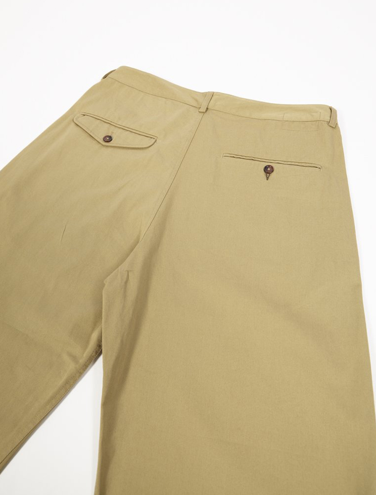 Universal Works Bakers Pant Twill Sand tasche