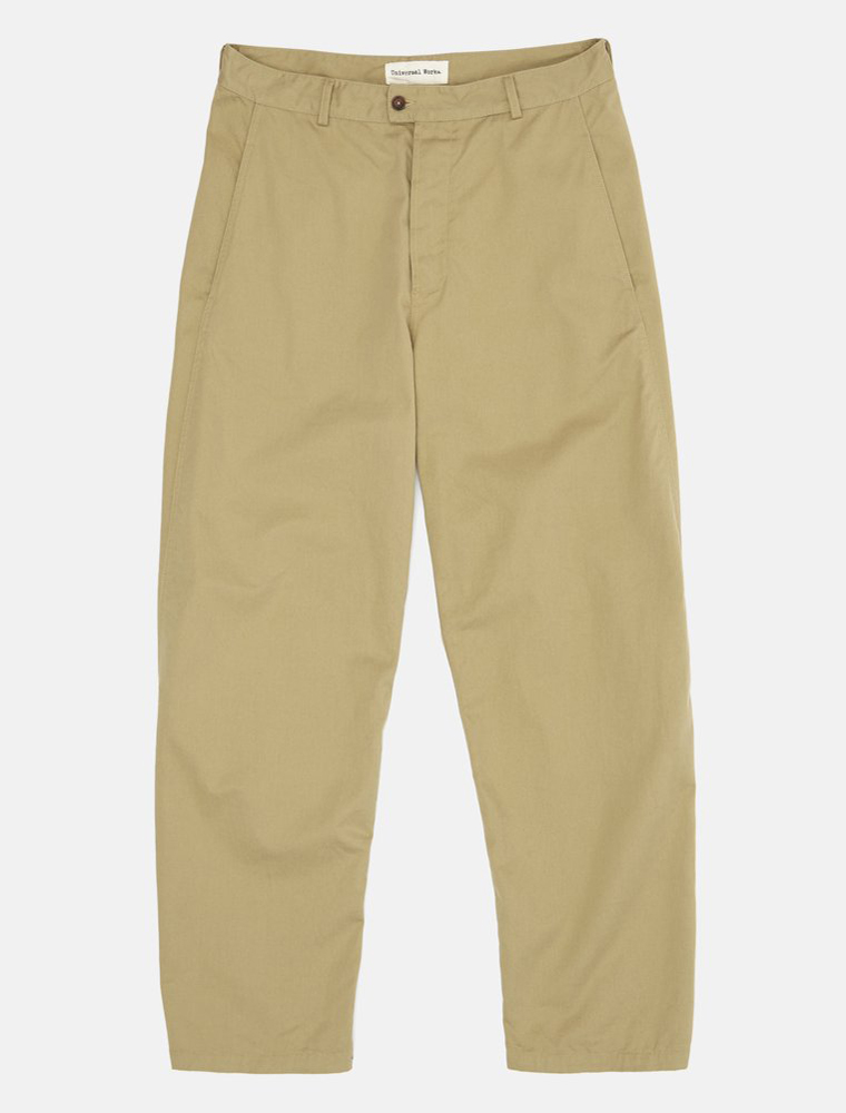 Universal Works Bakers Pant Twill Sand