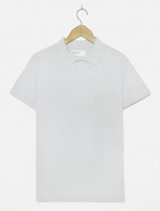Universal Works Vacation Polo Piquet Grey